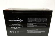 SLA 6V 12AH SEALED LEAD ACID - AGM Battery