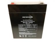 SLA 12V 5AH F1 Terminal SEALED LEAD ACID - AGM Battery