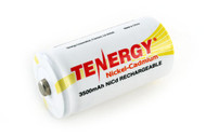 Tenergy 1.2V 3500mAh NiCd C Button Top Rechargeable Battery