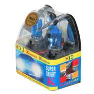 Super Bright Halogen 9007 (HB5) Cool Blue HID Xenon Headlight Bulbs 12V 65/55W