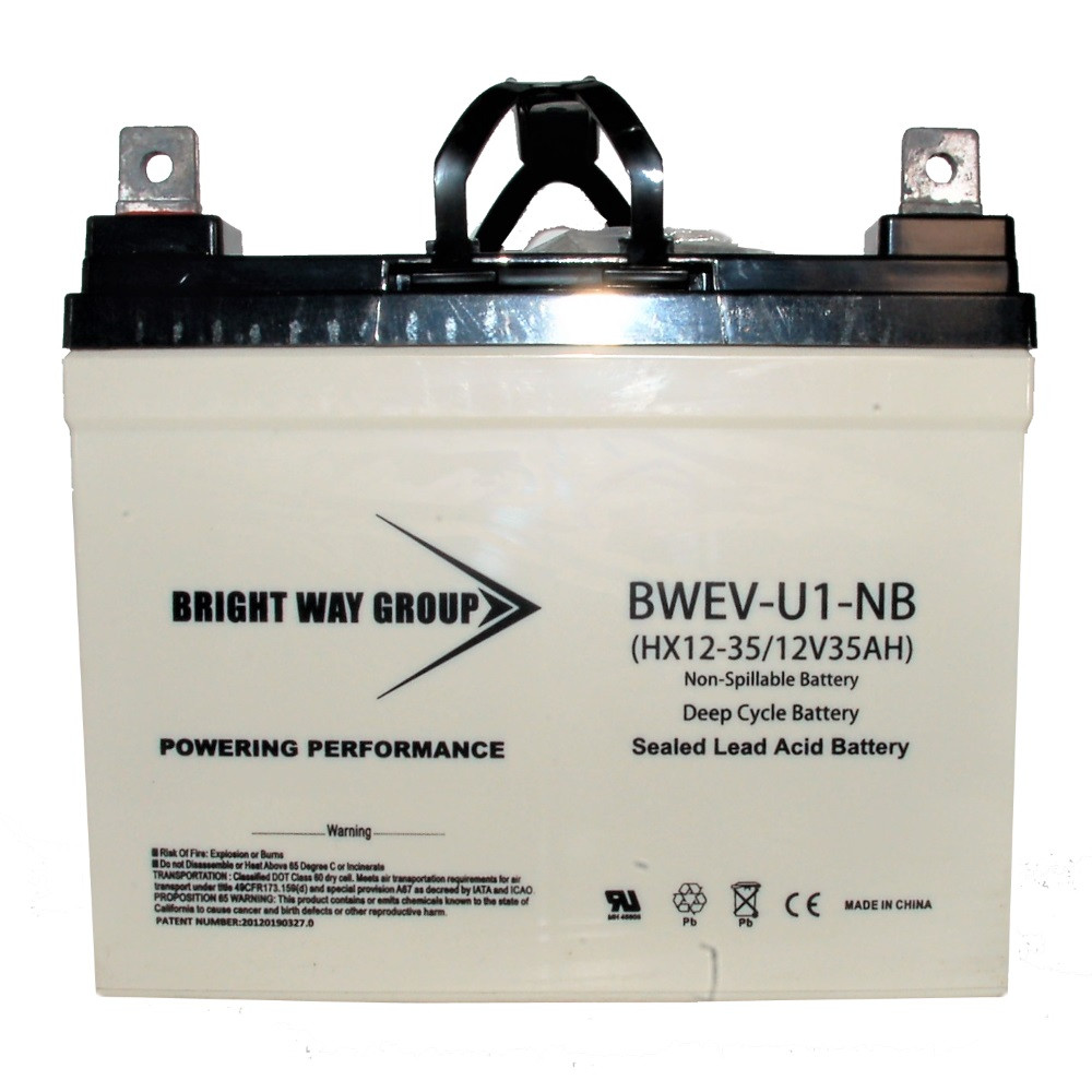 Bright Way Group 12v 12ah Sla Battery With F2 Terminal G C Co Re 12 V Cutoff Circuit Required Image 7