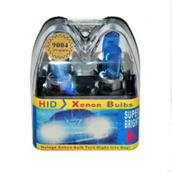 Super Bright Halogen 9004 (HB1) Cool Blue HID Xenon Headlight Bulbs 12V 65/45W