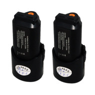 2 PK Replacement 2.0Ah Lithium-ion Battery for Ryobi Ryobi 10.8V Model B-1013L