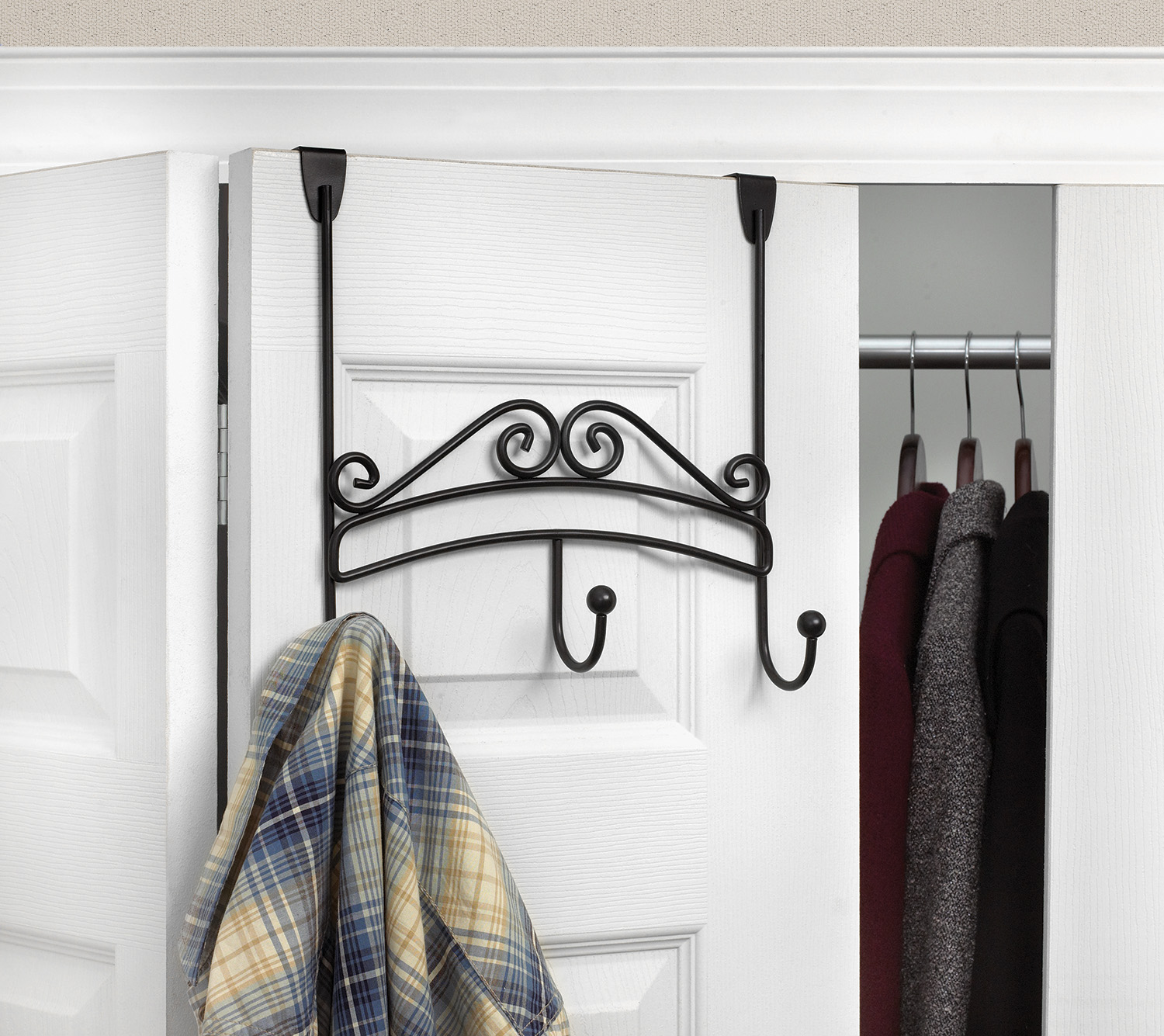 over the door hooks for closet organization
