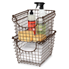Scoop Small Stacking Basket