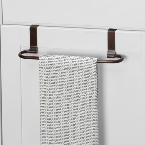 Euro Over the Cabinet Towel Bar