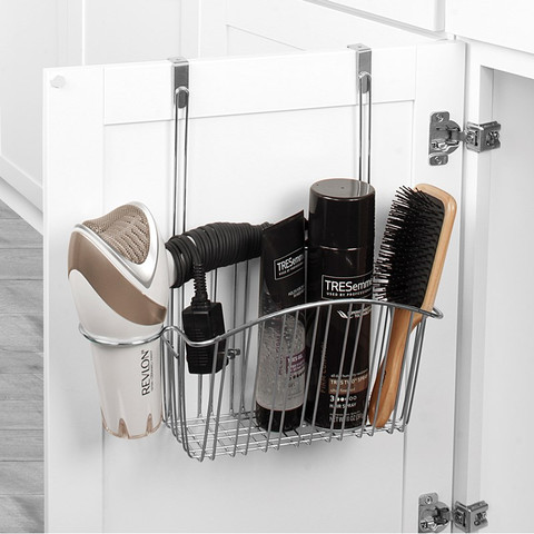 Contempo Over the Cabinet Hair Dryer & Accessory Holder
