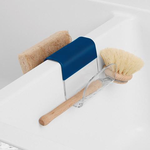Cora Sponge & Brush Sink Saddle