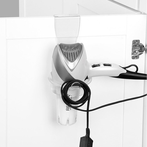 Contour Over the Cabinet Hair Dryer Holder