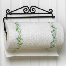 Scroll Wall Mount Paper Towel Holder