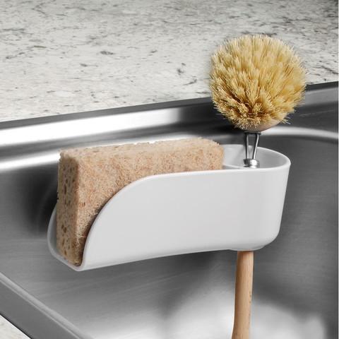 Royo Suction Sink Sponge & Brush Holder