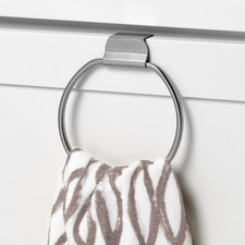 Over the Cabinet Towel Ring