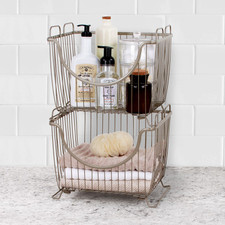 Ashley Large Stacking Basket