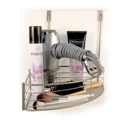 myBella Over the Cabinet Hair Dryer Holder & Accessory Tray