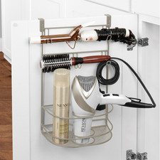 myBella Large Over the Cabinet Tiered Hair Dryer & Accessory Holder