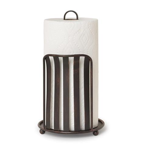 Stripe Paper Towel Holder