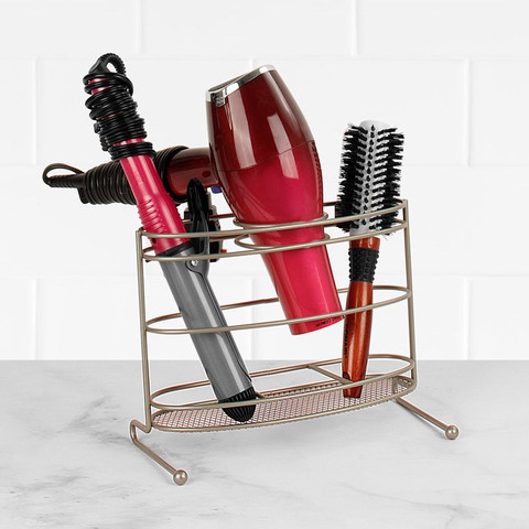 myBella Countertop Hair Dryer & Accessory Organizer