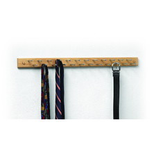 24-Peg Tie & Belt Organizer
