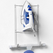 Wall Mount Iron & Ironing Board Holder