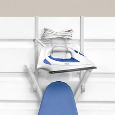 Over the Door Iron & Ironing Board Holder
