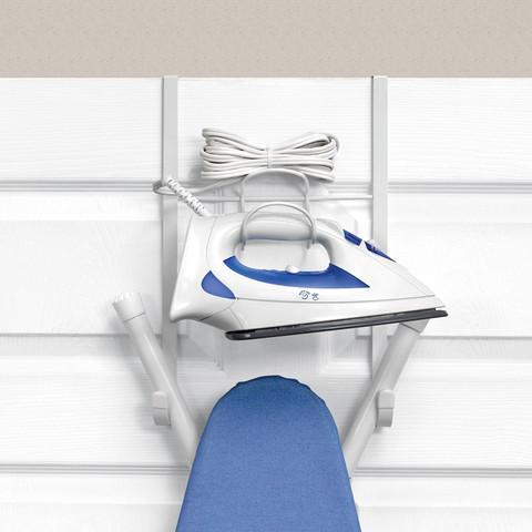Over the Door Iron & Ironing Board Holder