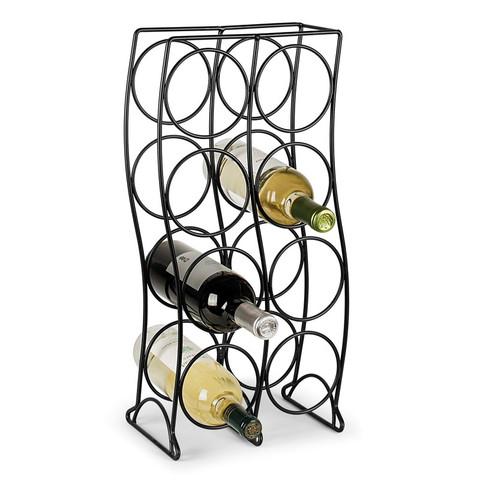Curve 8-Bottle Wine Rack