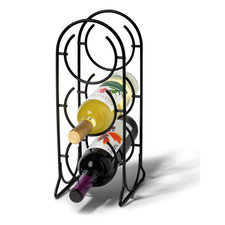 Horseshoe 3-Bottle Wine Rack