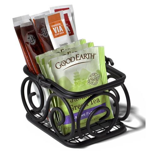 Scroll Sugar Packet Basket