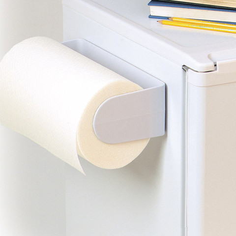 Screw Mount/Adhesive Paper Towel Holder