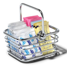 Contempo Sugar Packet Basket