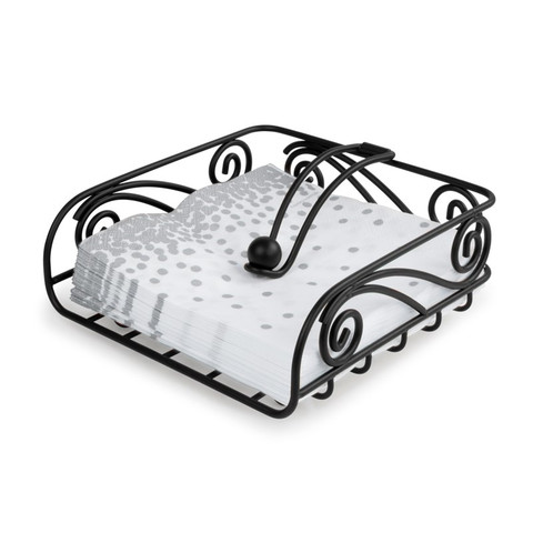 Scroll Deco Weighted Napkin Holder