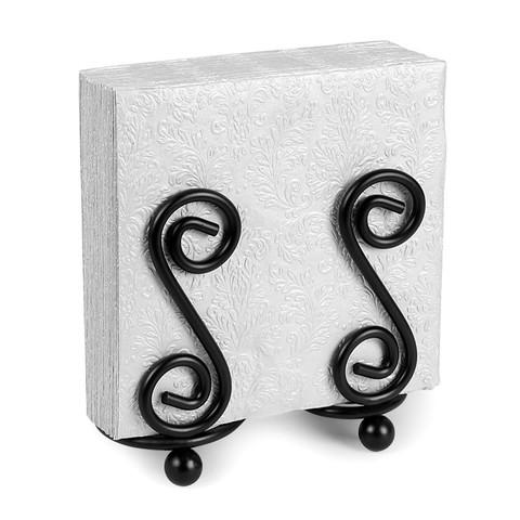 Scroll S Design Napkin Holder