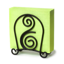 Scroll Deco Napkin Holder
