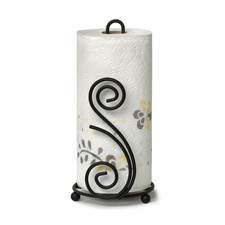 Scroll Deco Paper Towel Holder