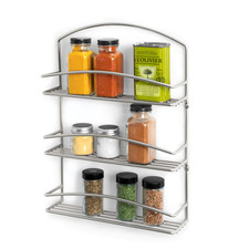 Euro Wall Mount 3-Tier Spice Rack