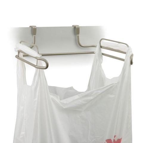 Duo Over the Cabinet Towel Bar & Trash Bag Holder