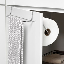 Duo Over the Cabinet Towel Bar &  Paper Towel Holder