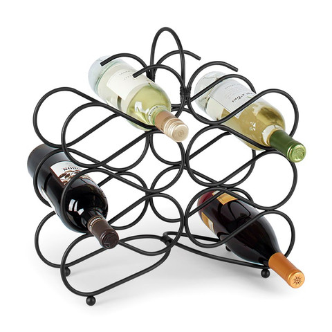 Scroll 12-Bottle Wine Rack