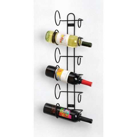 Wall Mount 6-Bottle Wine Rack