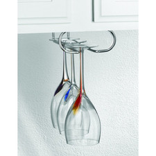 Under the Cabinet Wire Stemware Holder