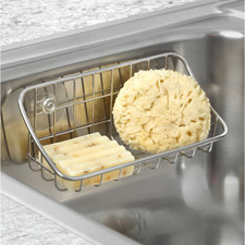 Grid Suction Sink Organizer