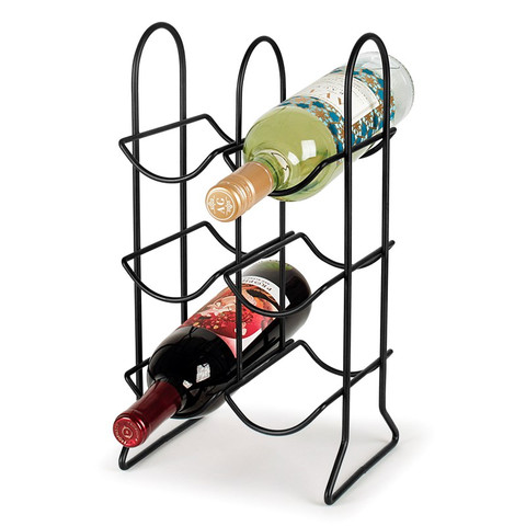 Townhouse 6-Bottle Wine Rack