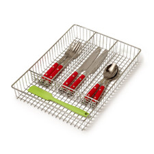 Grid Small Flatware Tray
