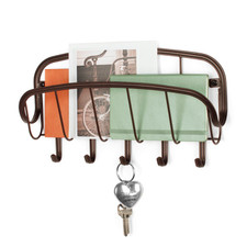 Ashley Wall Mount Letter Holder & Key Rack