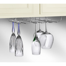 Under the Cabinet Triple Stemware Holder