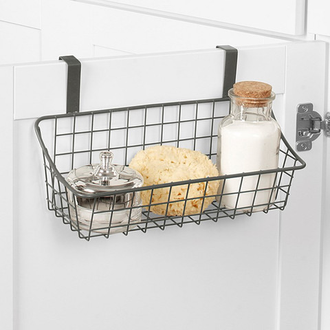Grid Over the Cabinet Small Basket