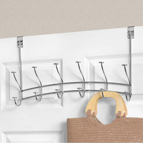Windsor Over the Door 6-Double Hook Rack