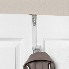 Edge Adjustable Over the Door Single Hook