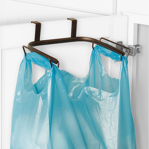 Ashley Over the Cabinet Trash Bag Holder