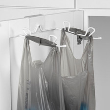 Over the Cabinet Trash Bag Holder